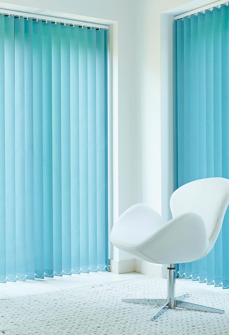 Stylish Vertical Blinds Hull
